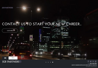 JGB Partners website design